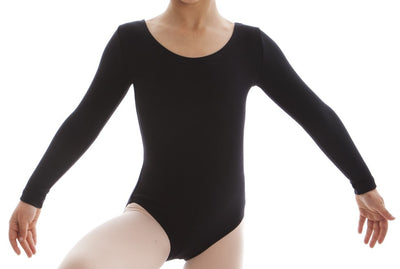 ENERGETIKS LONG SLEEVE SCOOP LEOTARD CHILDREN'S CL03