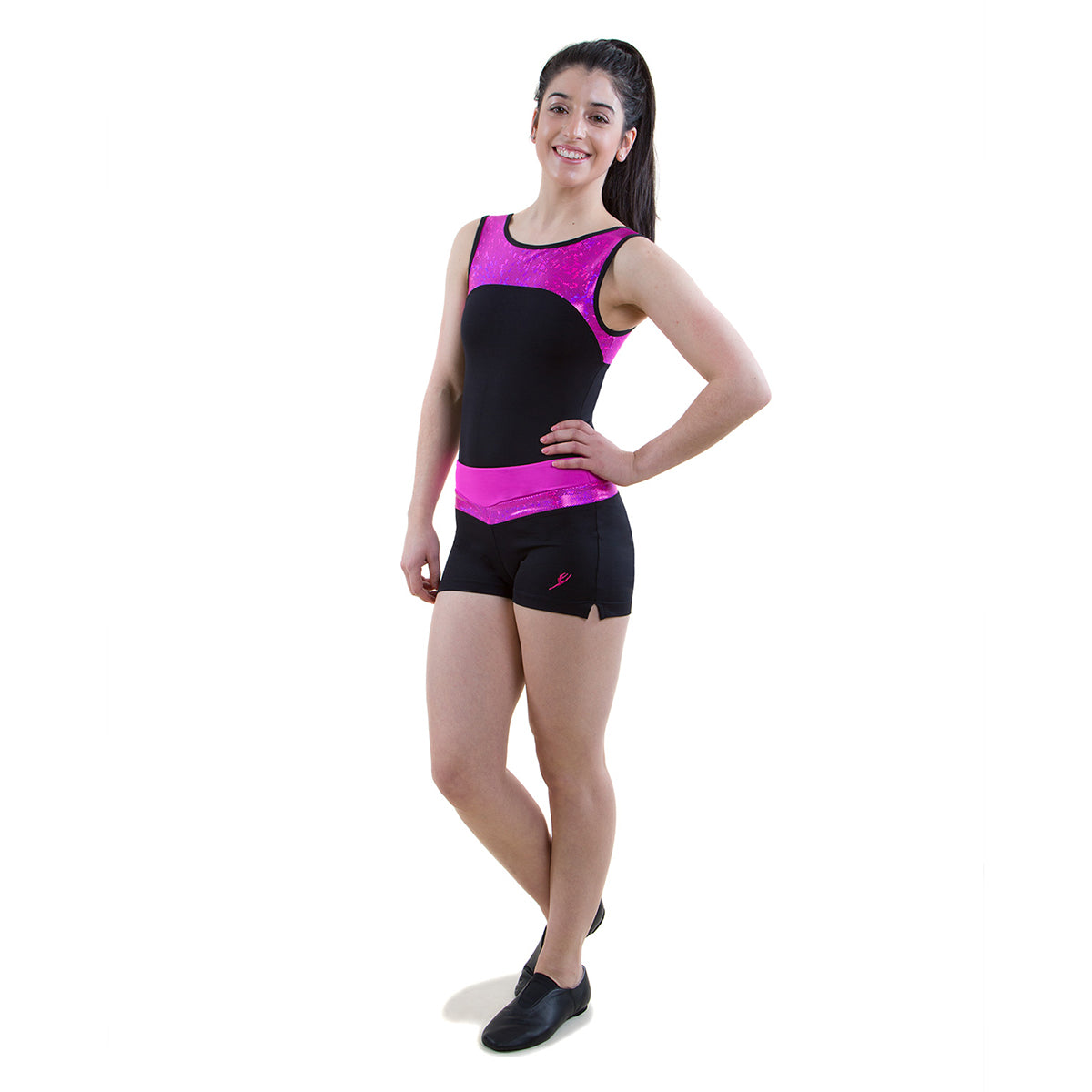 ENERGETIKS Shattered Glass - Women's Boat Neck Leotard GAL100