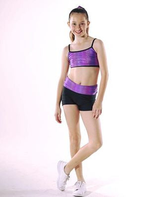 STUDIO 7 GALAXY CROP TOP CHILD CHT07