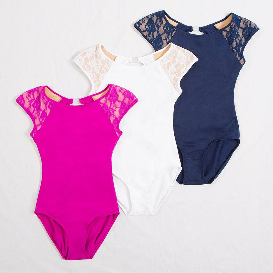 ENERGETIKS MILA LACE LEOTARD CHILD CL110