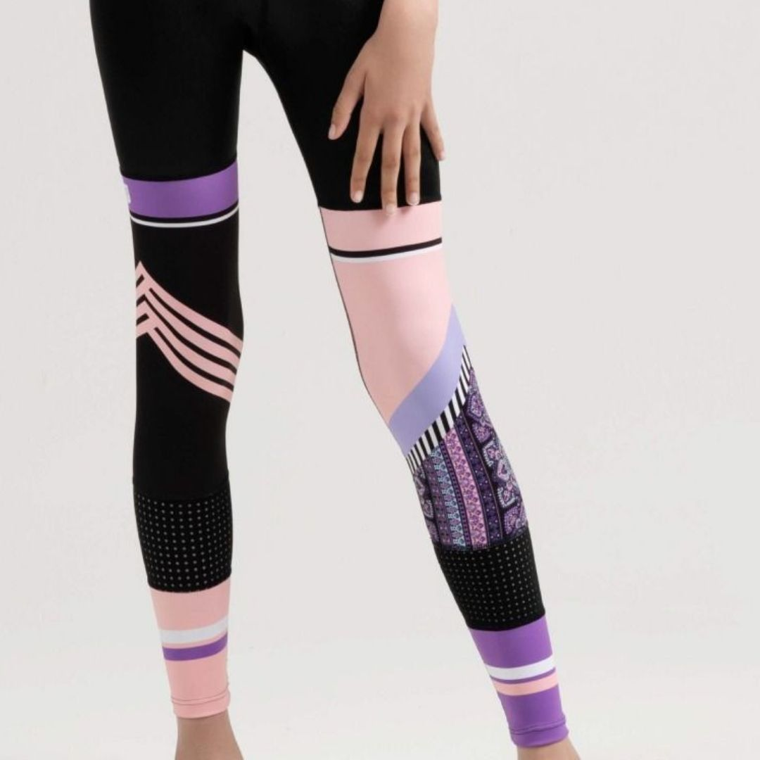 SYLVIA P SPORTY SISTERS FULL LENGTH TIGHT - GAME ON COLLECTION
