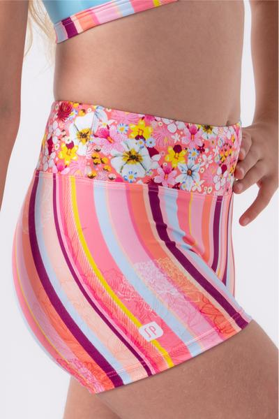SYLVIA P GYPSY STRIPE SHORT -  SUNDOWN COLLECTION
