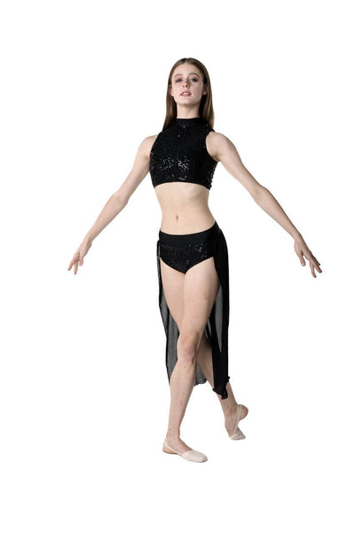 STUDIO 7 SYNCHRONISED ADULTS CONTEMPORARY SKIRT ADSK06