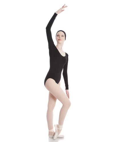 ENERGETIKS LONG SLEEVE SCOOP LEOTARD ADULT'S AL03