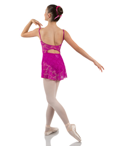 ENERGETIKS ALICE LACE BACK LEOTARD CHILD CL70