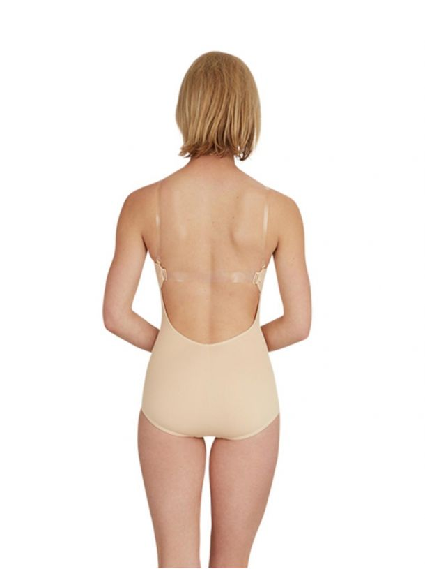 CAPEZIO CAMISOLE LEOTARD UNDER WITH BRATEK 3565