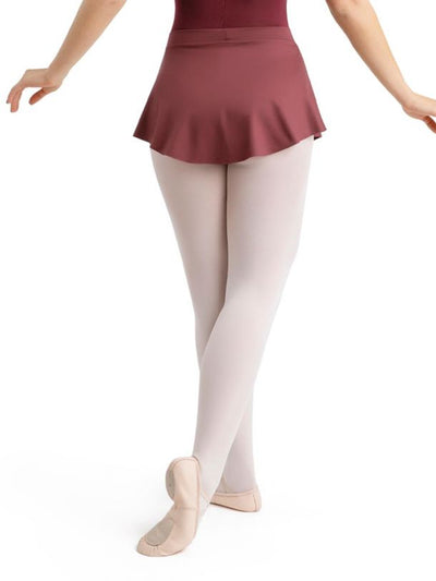 CAPEZIO CURVED PULL ON SKIRT(11459W/11459T)
