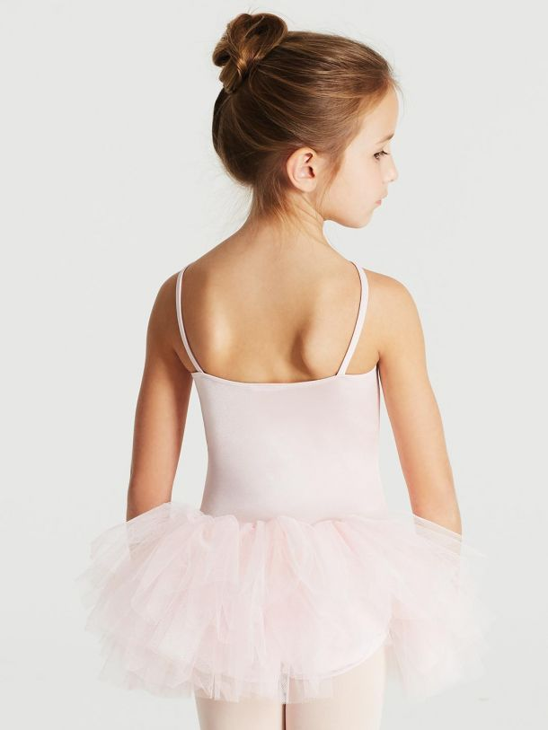 CAPEZIO RUFFLE  YOKE TUTU DRESS 11307C
