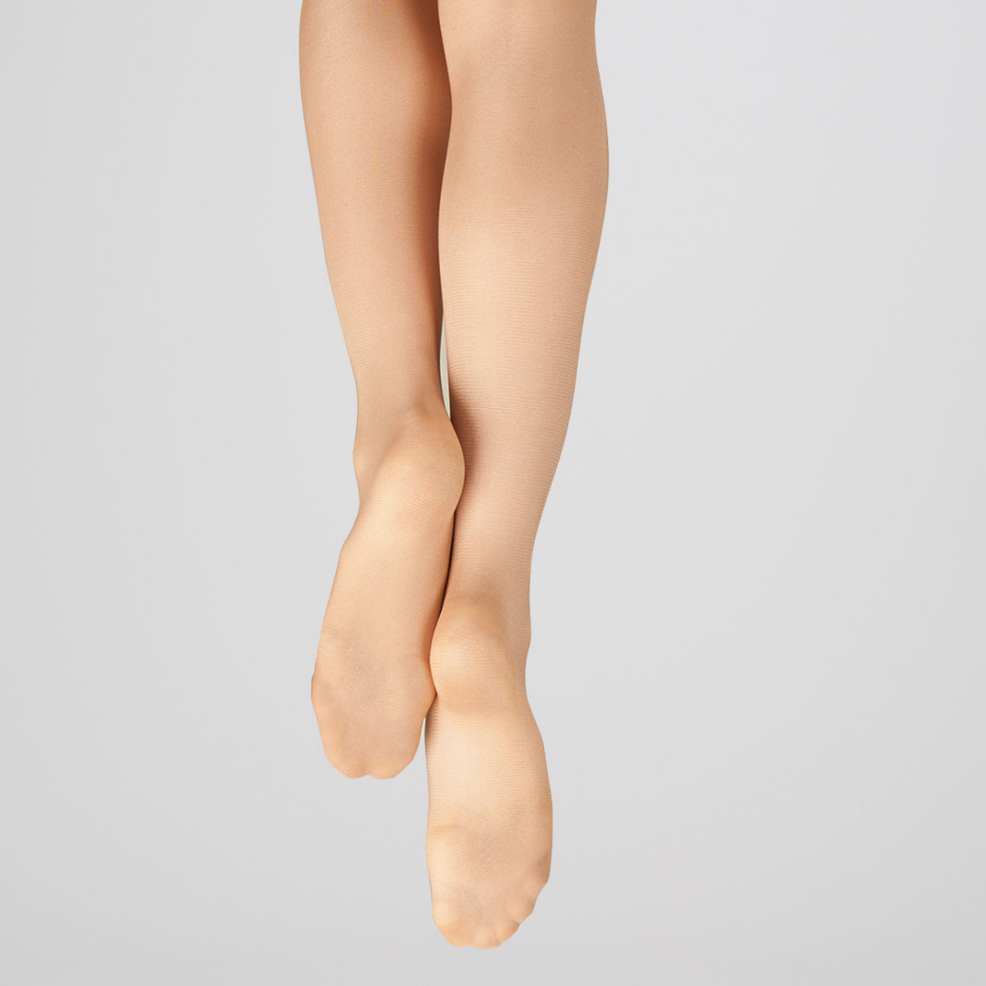CAPEZIO ULTRA SHIMMERY FOOTED TIGHT 1808
