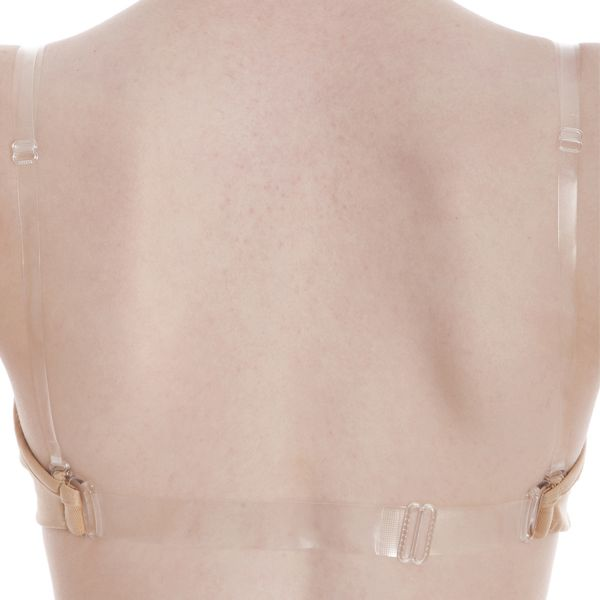 CB09 /AB09 ENERGETIKS CLEAR BACK BRA FLESH
