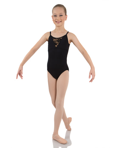 ENERGETIKS GRACE CAMISOLE LACE LEOTARD CHILD CL105