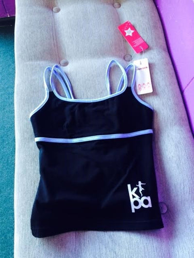 Dansgirl Double Strap Camisole Top with KPA Logo