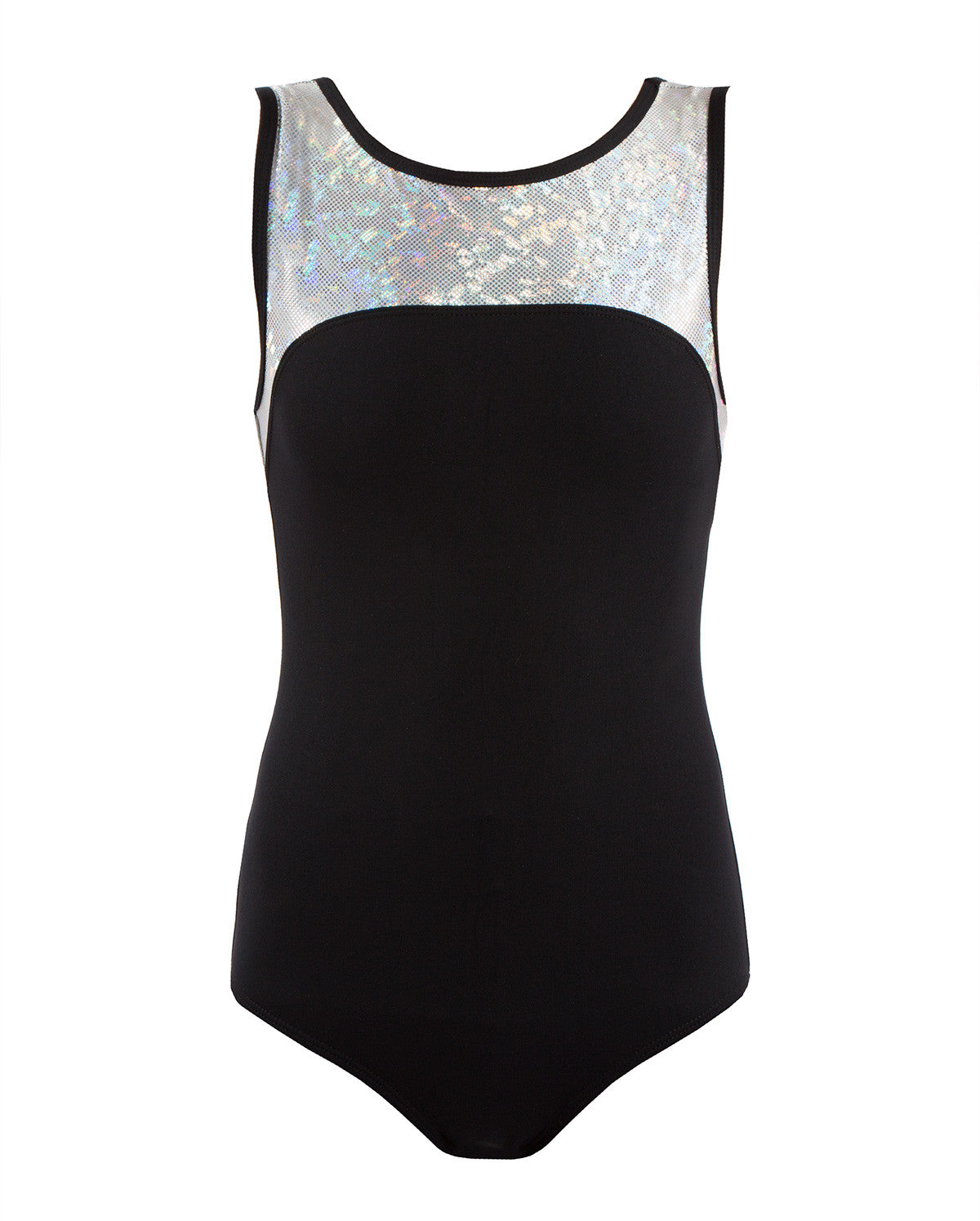 ENERGETIKS Shattered Glass - Girls Boat Neck Leotard Product ID: GCL100