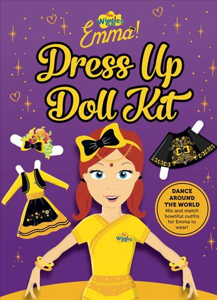 THE WIGGLES: EMMA! DRESS UP DOLL KIT PAPERBACK WITH PRESS OUT PIECES