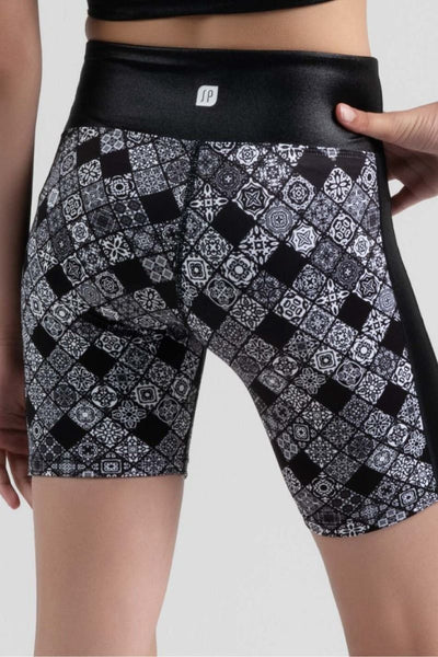 SYLVIA P SPORT BOHO SHORT TIGHT -GAME ON COLLECTION