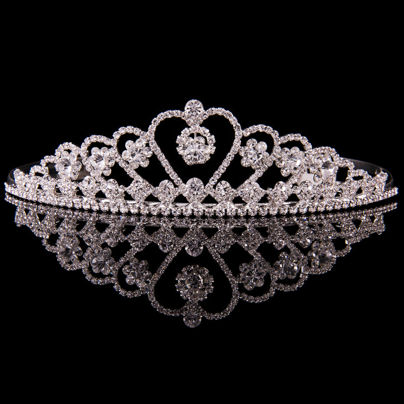 MAD ALLY LARGE HEART TIARA T17407