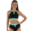 COSI G TEAR DROP CROP TOP