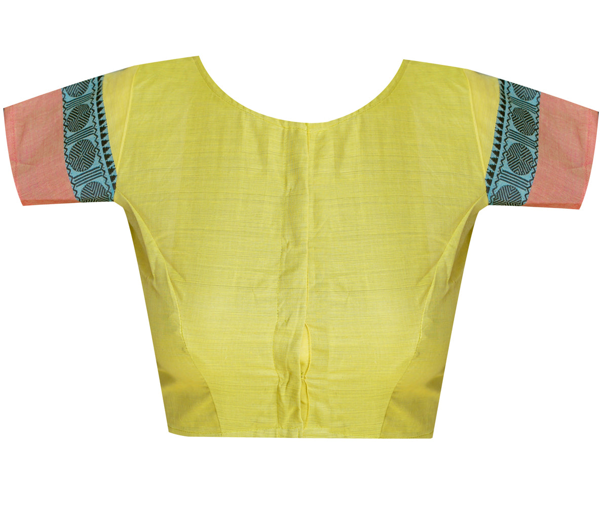 Boat Neck Chettinadu Readymade Blouse