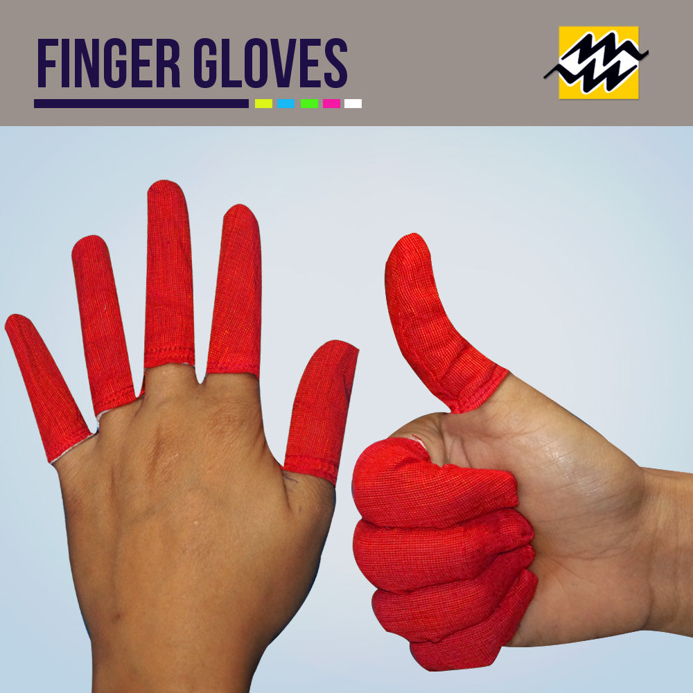 Plain Finger Gloves