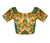 Boat Neck Kalamkari Readymade Blouse Plus Size