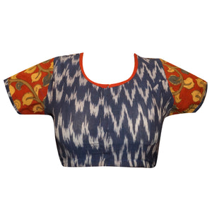 Deep Neck Readymade Blouse