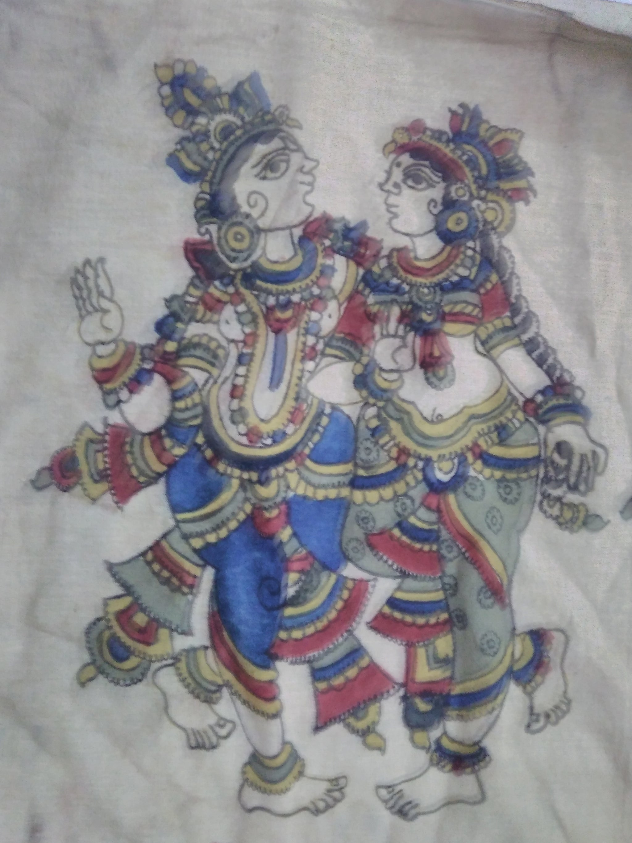 Pen Kalamkari Patches