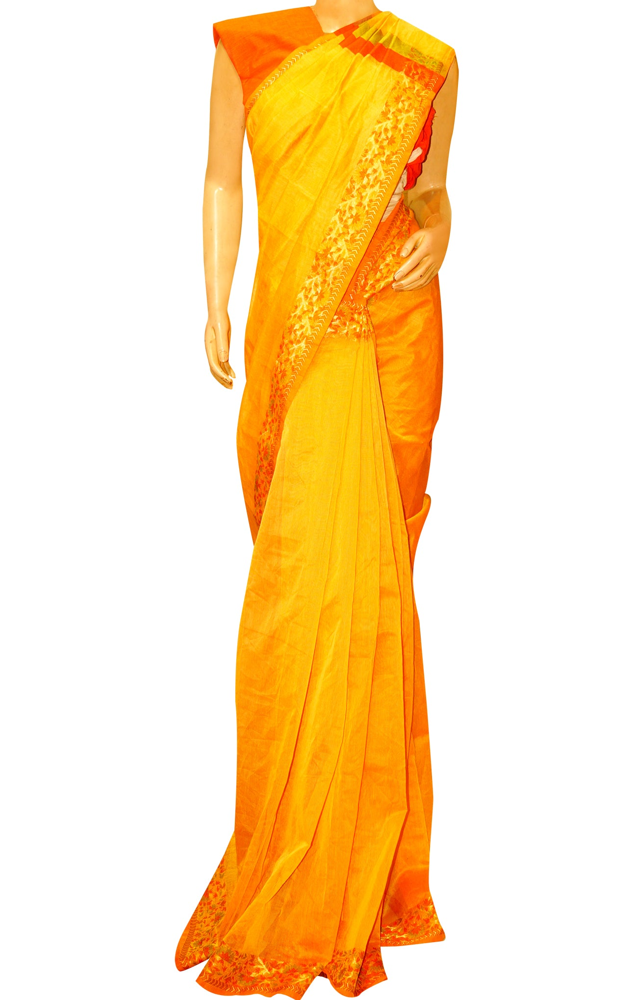 Banaras Plain Saree
