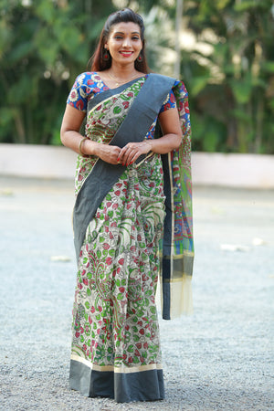 Banaras Printed Saree