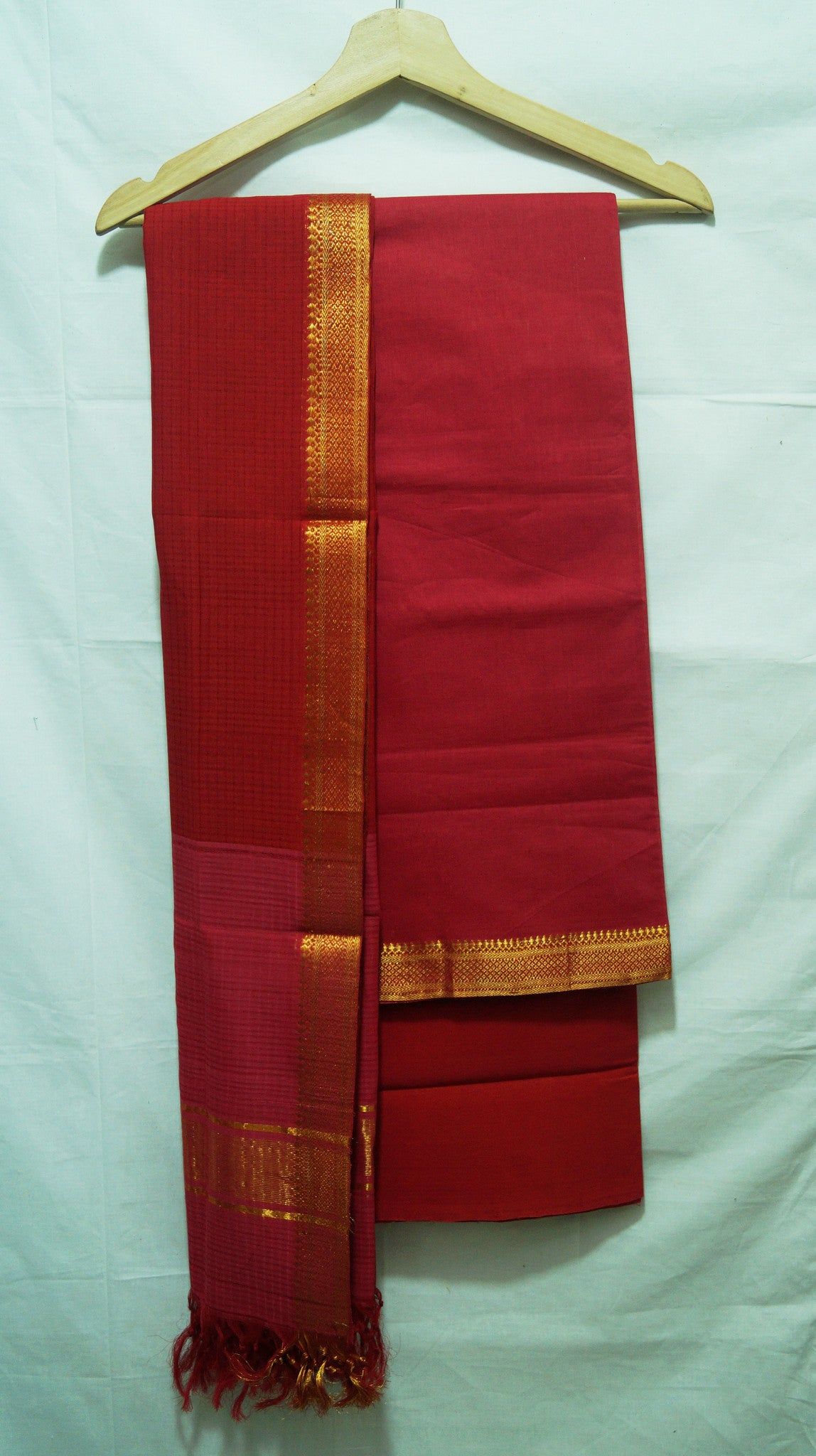 Mangalagiri Plain Dress Materials