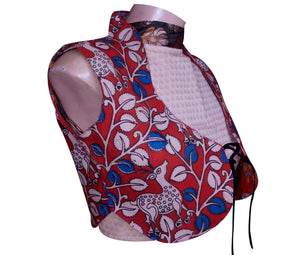 Kalamkari Two Way Jacket