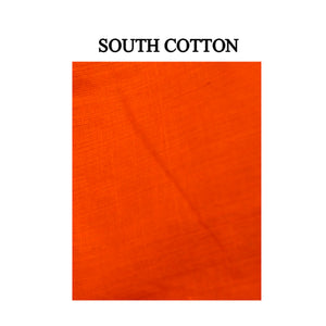 Boat Neck South Cotton and Ikkat Readymade Blouse