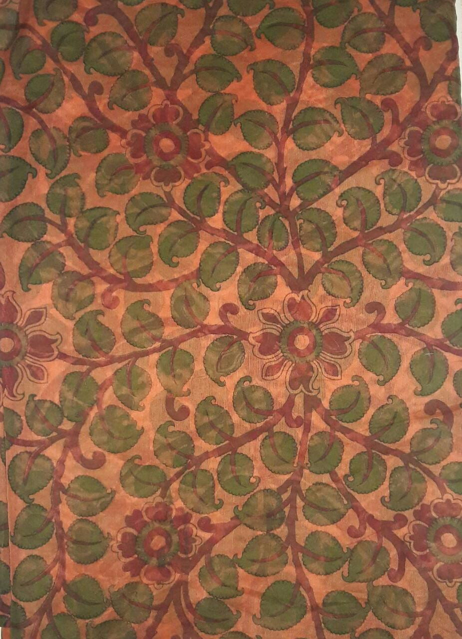 Chanderi Printed Fabric