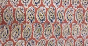 Block Kalamkari Fabric