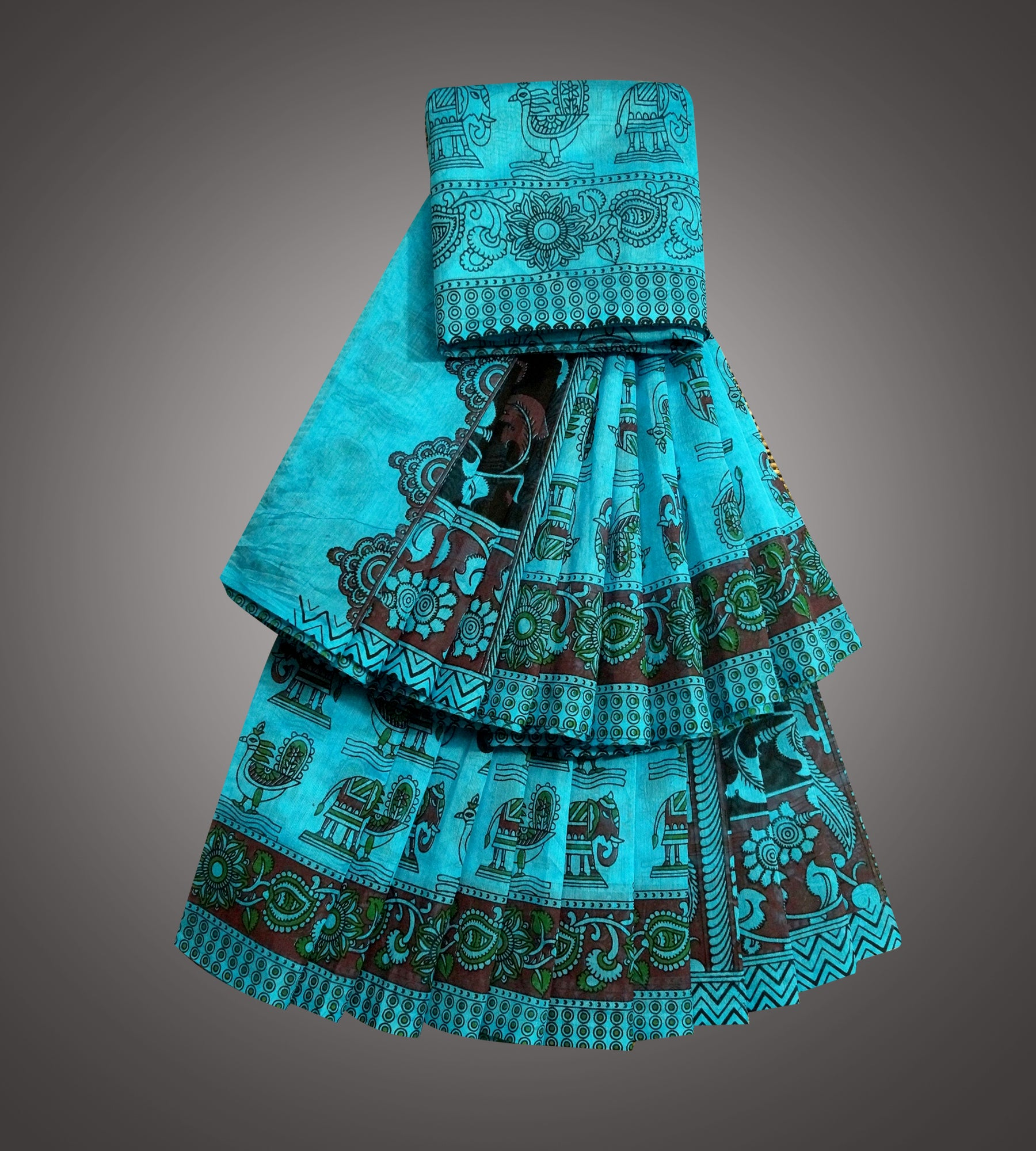 Chanderi Printed Saree