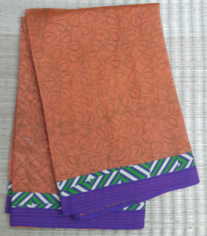Chanderi Single Tone Saree