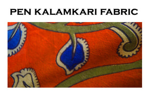 Unique Designs  Cotton silk pen kalamkari Readymade Blouse