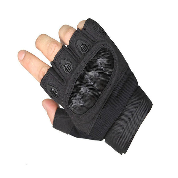 Upgraded Men's Half Finger Tech Touch Gloves for Motorcycle Climbing hiking Outdoor Sports Smart Gloves,OMGAI
