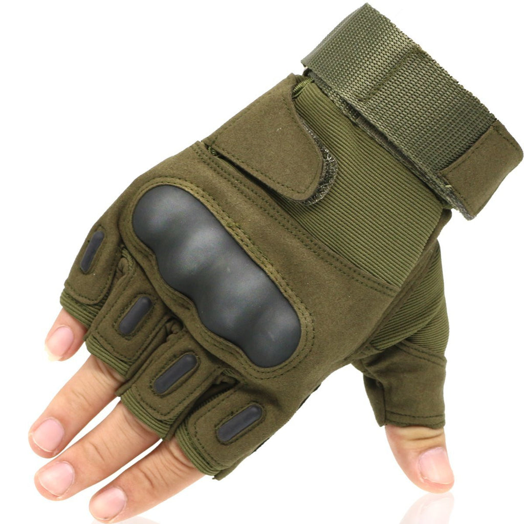 men's half finger gloves for motorcycle out sports , OMGAI