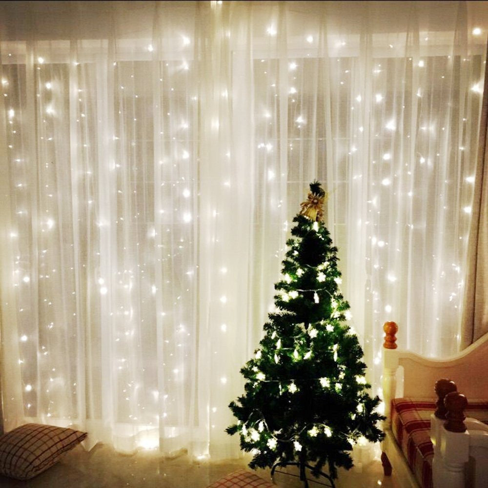 Low Voltage Christmas Lights.Omgai Window Curtain Icicle String Lights Of 300led For Christmas Xmas Wedding Party Home Decoration Fairy Lights Wedding Party Home Garden