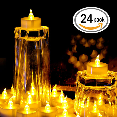led tea lights candles, OMGAI
