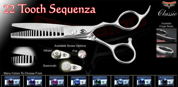22 Sequenza Texturizing Shears