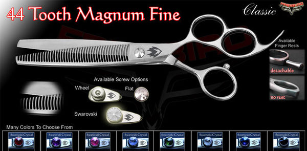 3 Hole 44 Tooth Magnum Thinning Shears