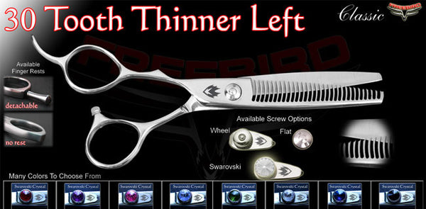 30 Tooth Left Handed Thinning Shears