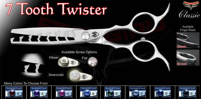 7 Tooth Twister Chunking Shears