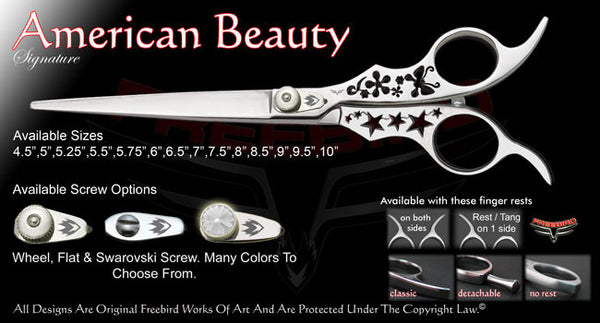 American Beauty Straight Signature Grooming Shears