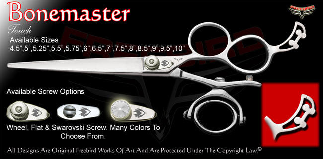Bonemaster 3 Hole Double V Swivel Touch Grooming Shears