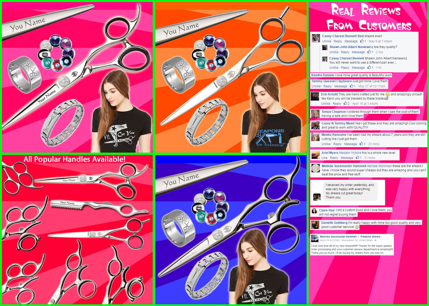 Freestyle BYou Customized Shears
