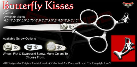 Butterfly Kisses 3 Hole Touch Grooming Shears