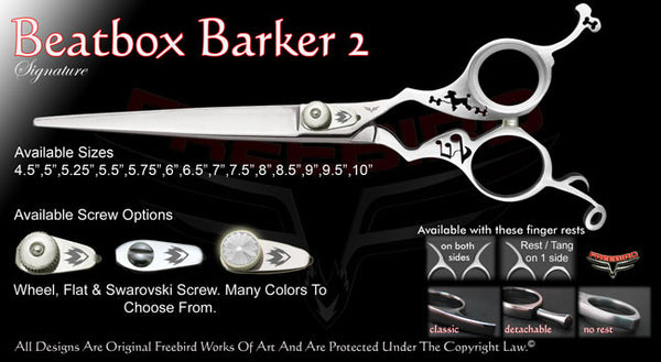 Beatbox Barker 2 Straight Signature Grooming Shears