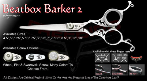 Beatbox Barker 2 Straight Signature Hair Shears